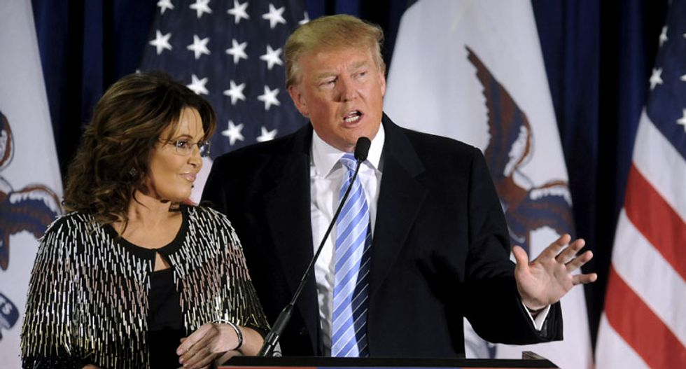 'I could care less': Sarah Palin's endorsement fails to excite Trump rallygoers
