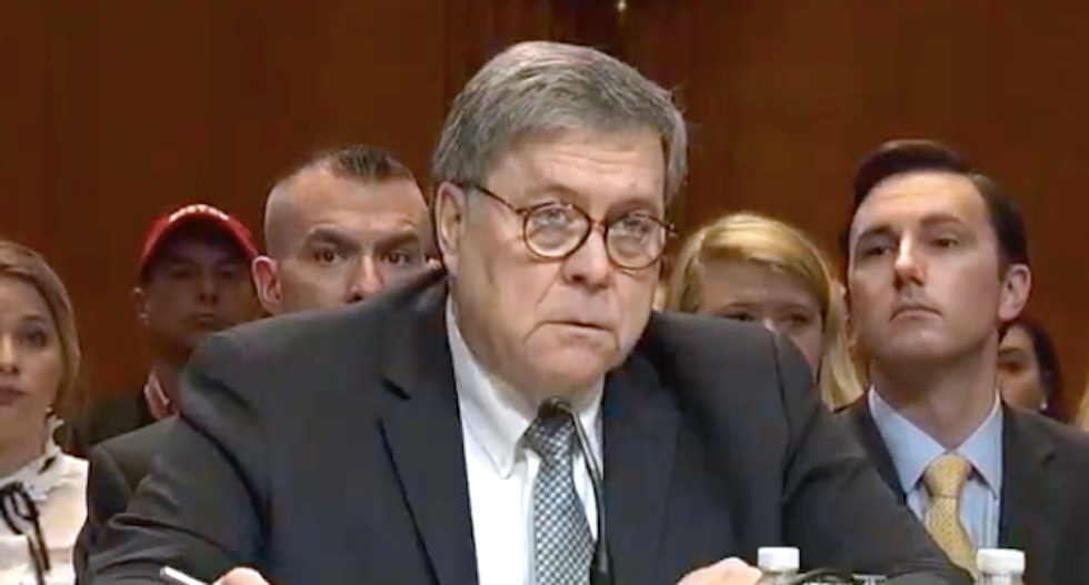 BUSTED: Bill Barr caught briefing White House on Mueller report before public release