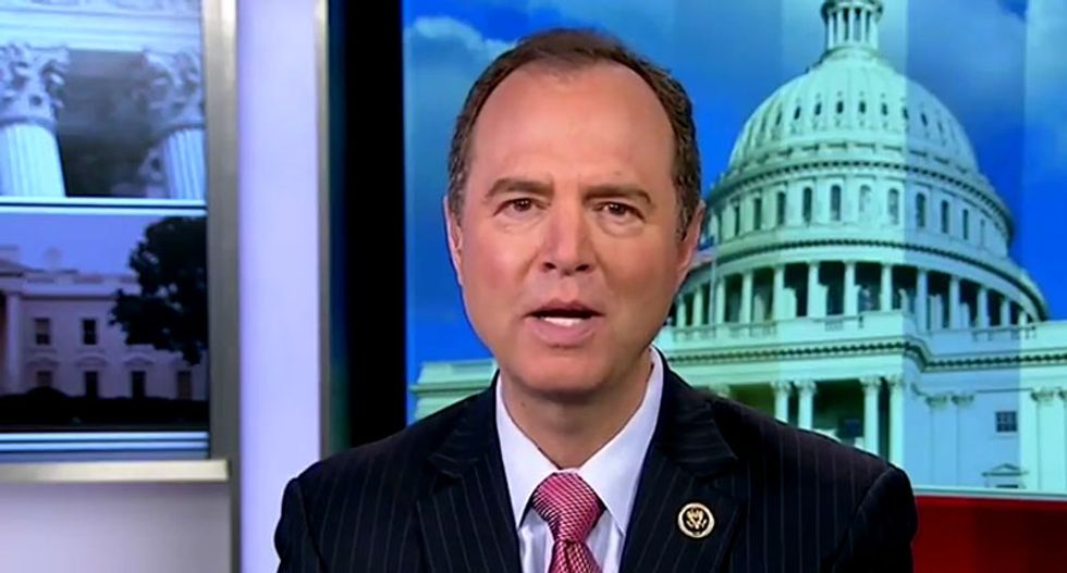 Adam Schiff to Maher: GOP lining their pockets before Trump's 'wheels come completely off the wagon'