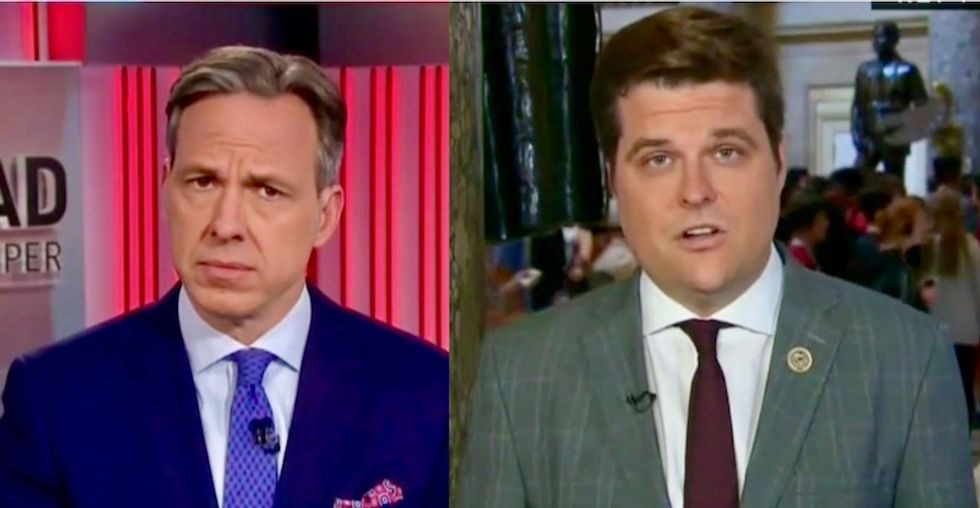 Jake Tapper drops the hammer on GOP congressman over second special counsel: 'You keep saying this and you don't know what you are talking about'