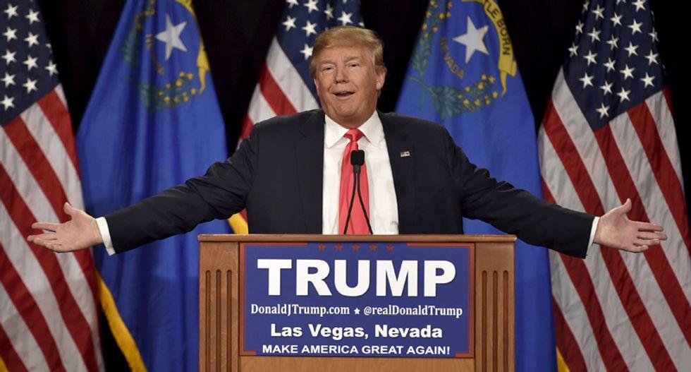 Trump lead jumps to 40.6 percent: poll