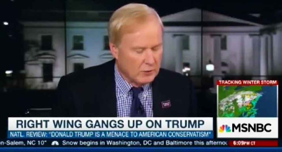 Chris Matthews rips National Review 'war hawks': You hate Trump because he was against that 'stupid war'