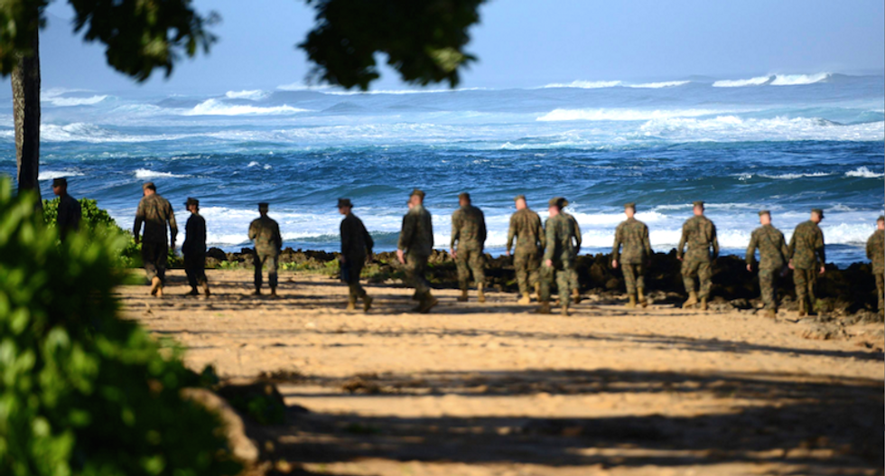 12 Marines declared dead after helicopter crash off Hawaii