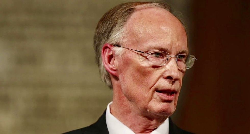 Alabama 'family values' governor begs lawmakers not to release more lurid details of his affair