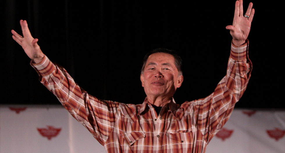 George Takei says what we're all thinking about Trump's 'illegitimate' presidency -- and Gorsuch