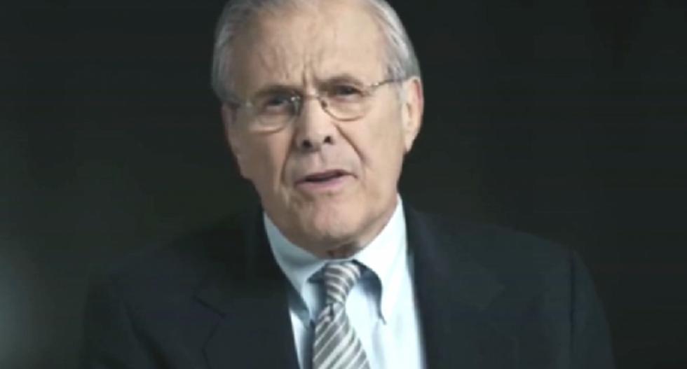 Iraq war architect Donald Rumsfeld releases video game