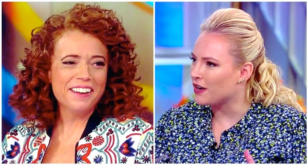 The View's Meghan McCain scolds Michelle Wolf for 'killing jobs' for comedians — and she has the perfect response