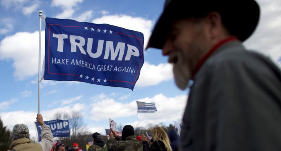 Is the sky blue? Is the grass green? It all depends on what Donald Trump says