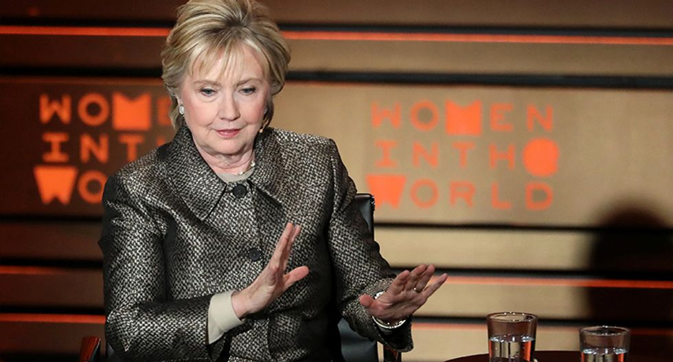 Hillary Clinton calls for US to bomb Syrian air fields hours before Trump does exactly that