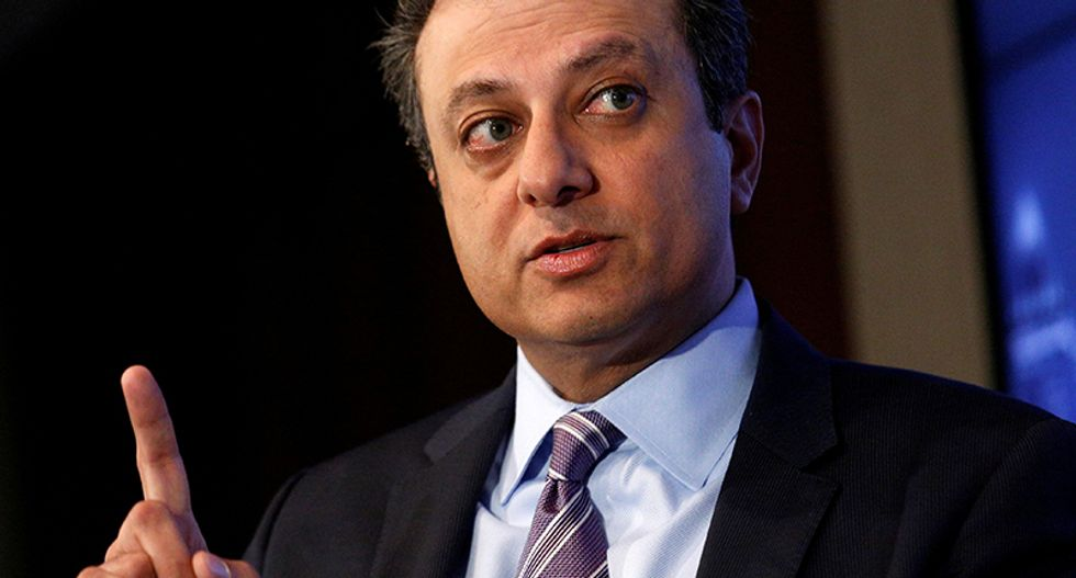 'You don't drain a swamp with a slogan': Ex-US Attorney Bharara knocks Trump for replacing 'muck with muck'