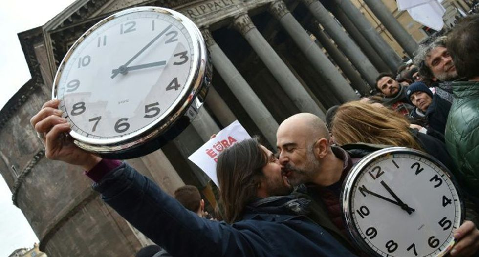 Thousands march in Rome for gay rights and same-sex marriage