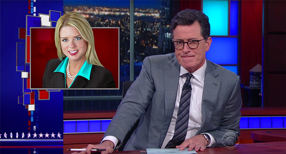 Stephen Colbert: 'Pam Bondi is the only person in the world who made money from Trump University'