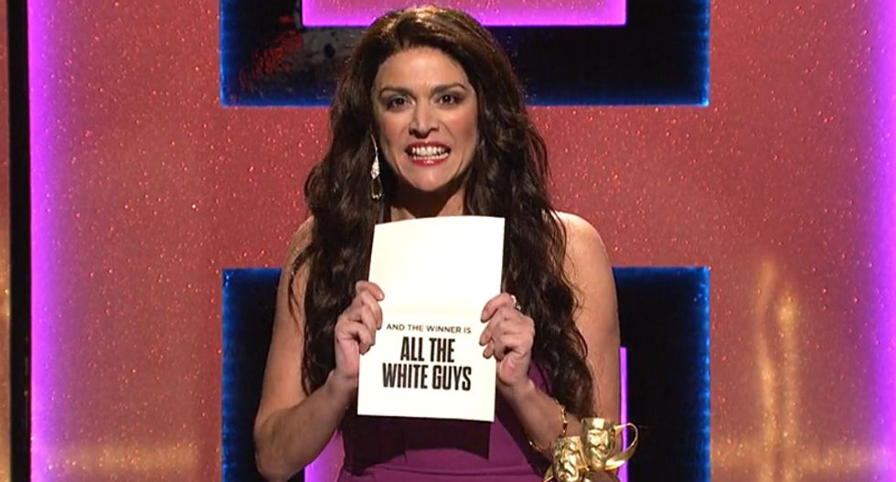SNL ruthlessly mocks all-white Hollywood award ceremonies with brutal take down