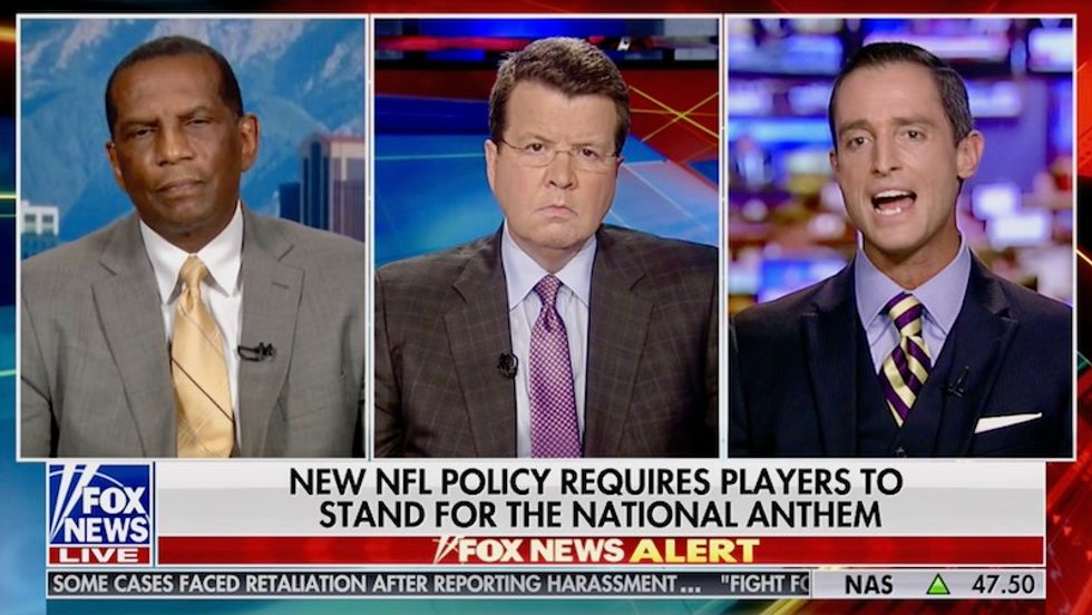 Fox News panelists love new rule forcing NFL players to 'behave' -- claims they're disposable in 'overall equation'