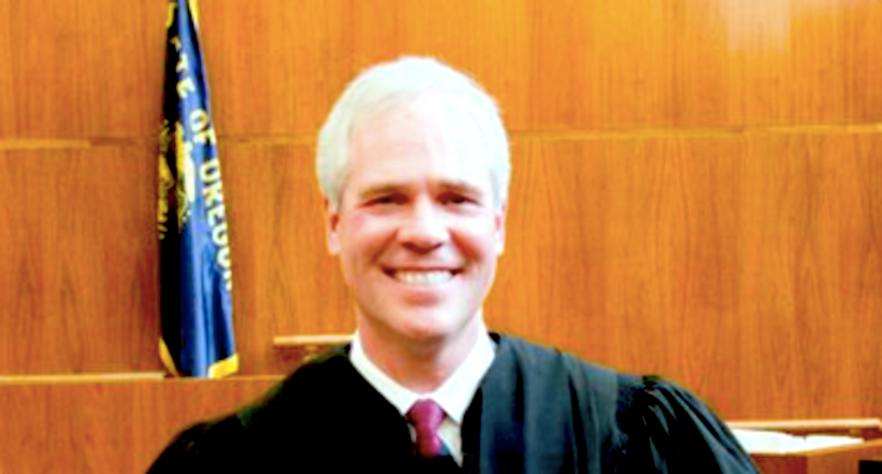 This Hitler-loving, gay-hating Oregon judge is so unethical that he might be a criminal, state panel finds