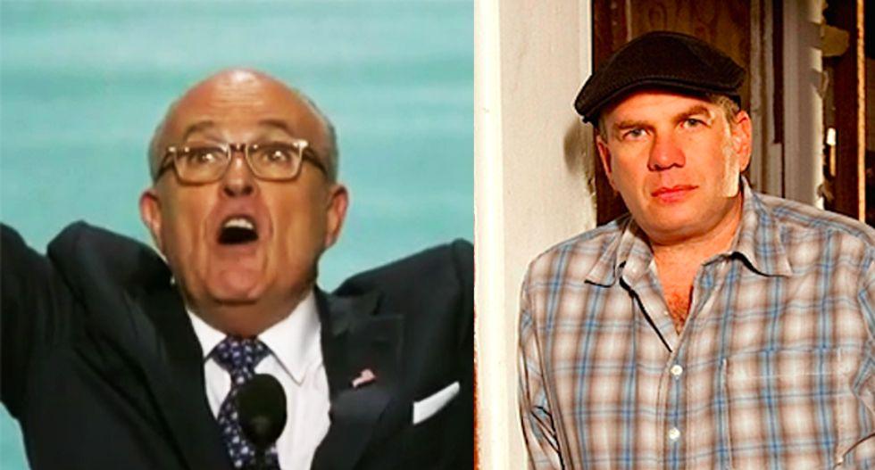 'Wire' creator David Simon shreds 'callow hack' Rudy Giuliani over his defense of 'swine' Trump