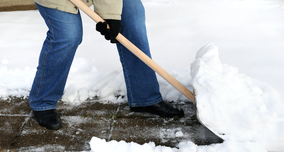NJ woman shoots man who was using her shovel to clear elderly neighbor's driveway