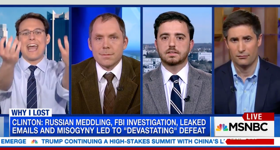 Watch this panel of men discuss whether misogyny 'played a role' in Hillary Clinton's 2016 defeat