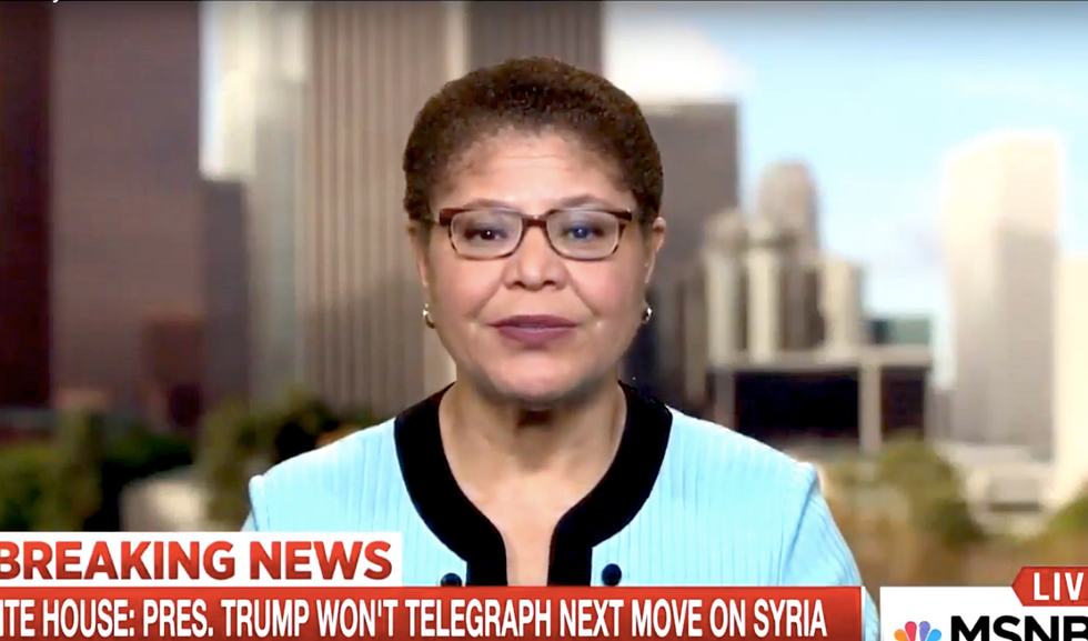 'We need some leadership here': Democratic Rep blasts Trump's lack of a 'coherent policy' on Syria