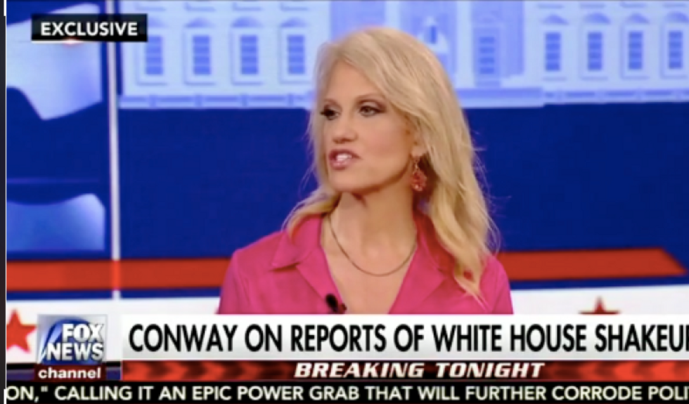 Kellyanne Conway: Turmoil at White House is normal -- it's just because Trump doesn't hire 'yes men'
