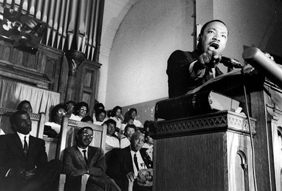50 years ago this week Martin Luther King Jr. delivered one of the most powerful denouncements of war