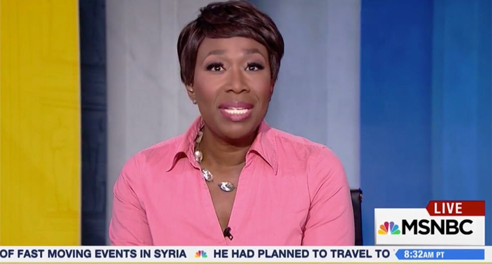 Joy Reid warns media not to ignore Trump's Russia scandal: Don't be distracted by his 'shiny toy' Syria attack