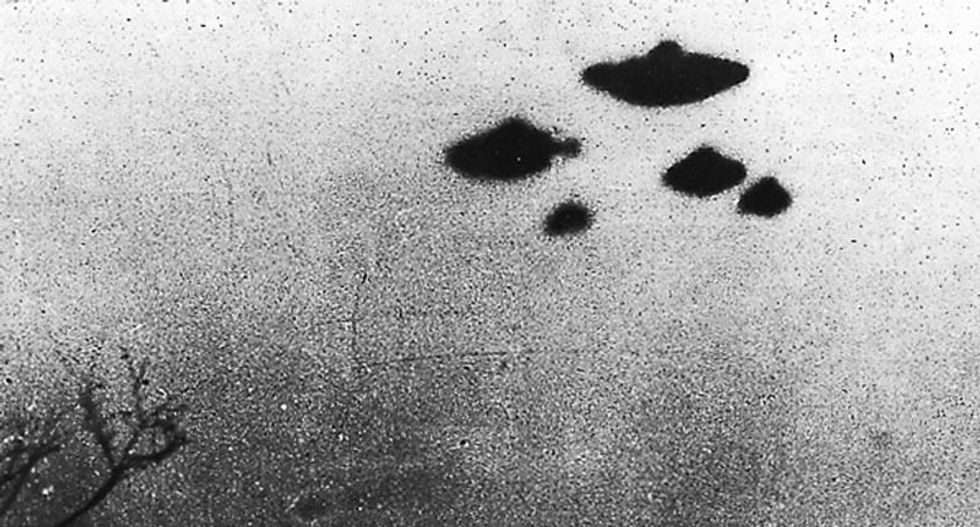 CIA jumps on return of 'X Files' bandwagon by releasing photos and reports of UFO sightings in the 50's