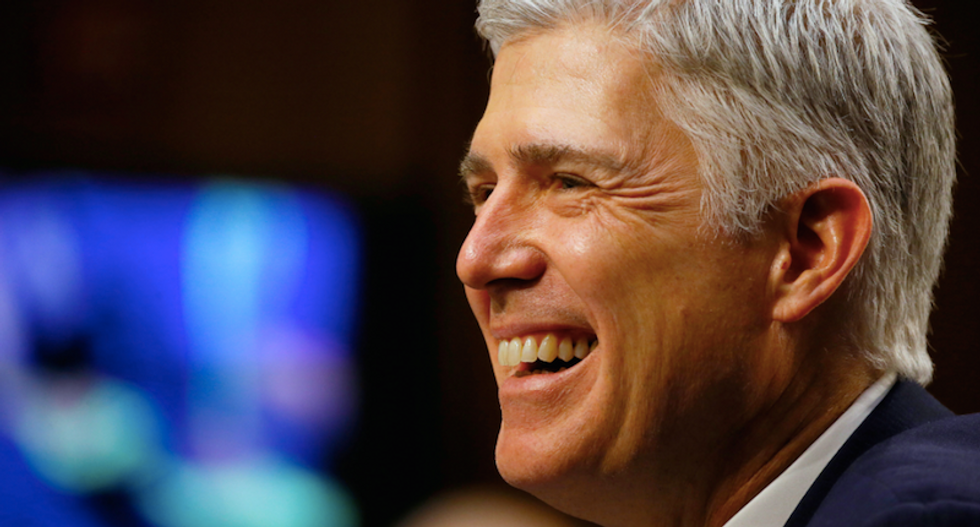 WATCH LIVE: Trump's Supreme Court appointee Neil Gorsuch to be sworn in on Monday