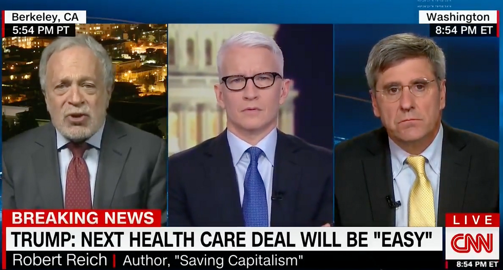 Robert Reich dismantles Trump's latest healthcare pledge: 'I don't think he has any credibility left'