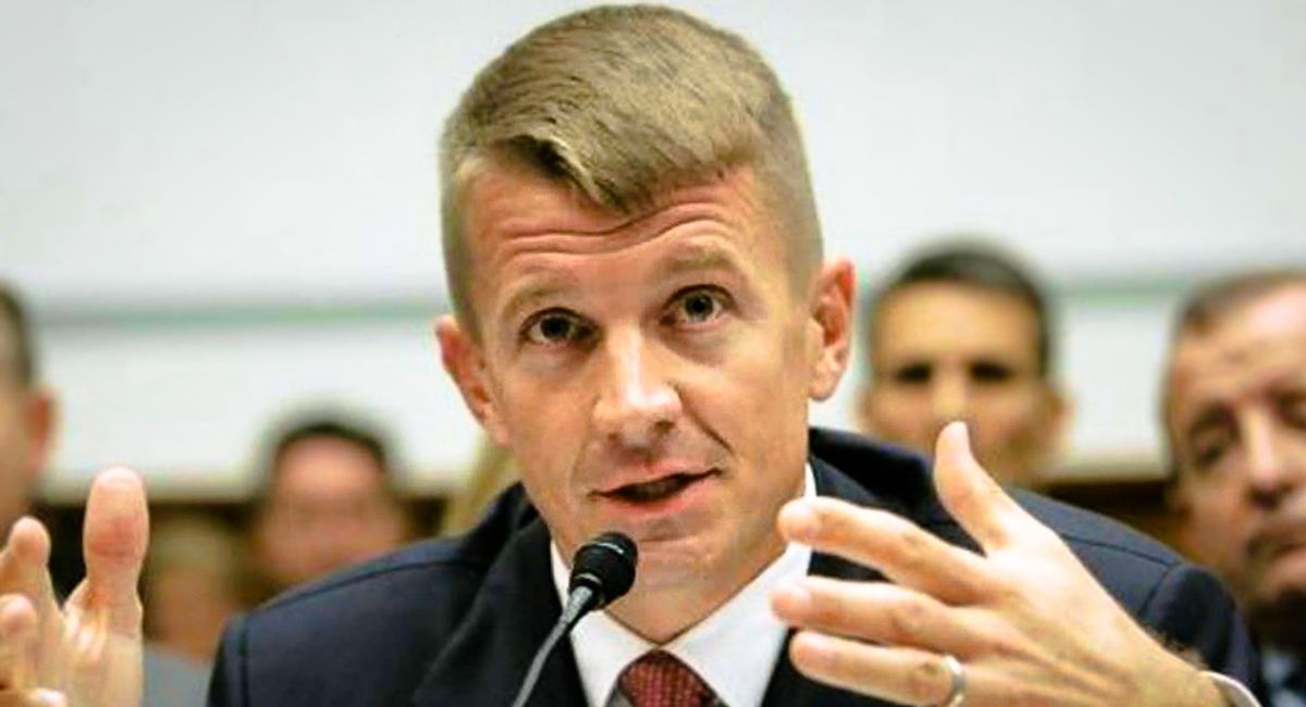 Erik Prince facing UN sanctions for violating embargo with mercenaries armed with attack aircraft: report