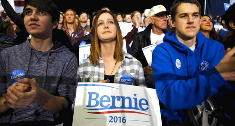 Feeling the Bern for Trump: Sanders voters may turn their backs on Hillary