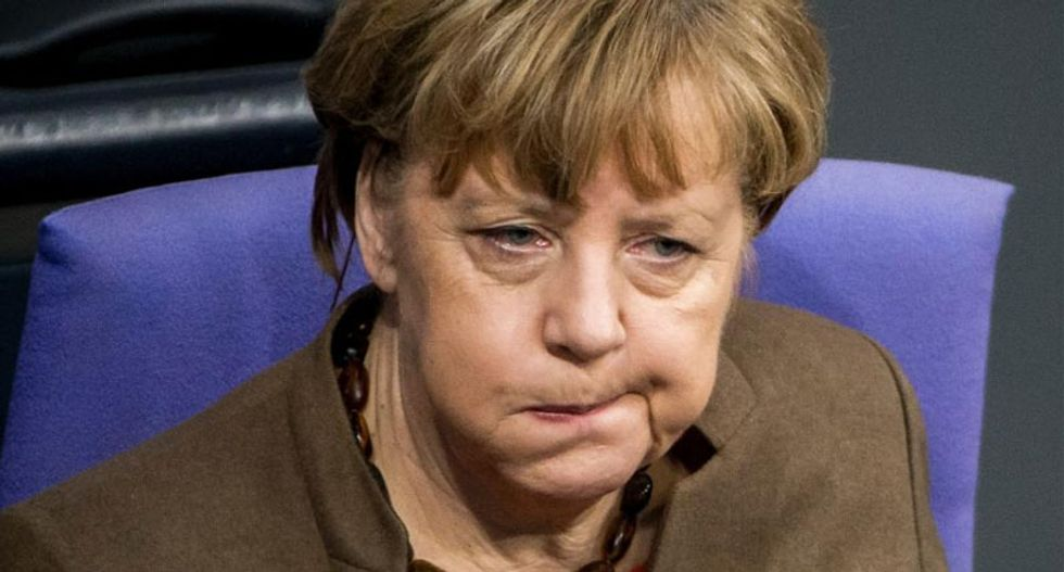 Rueful German Chancellor Merkel takes blame after her party is trounced in Berlin elction