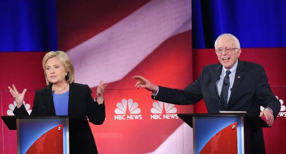 Clinton and Sanders -- two visions, two campaign styles