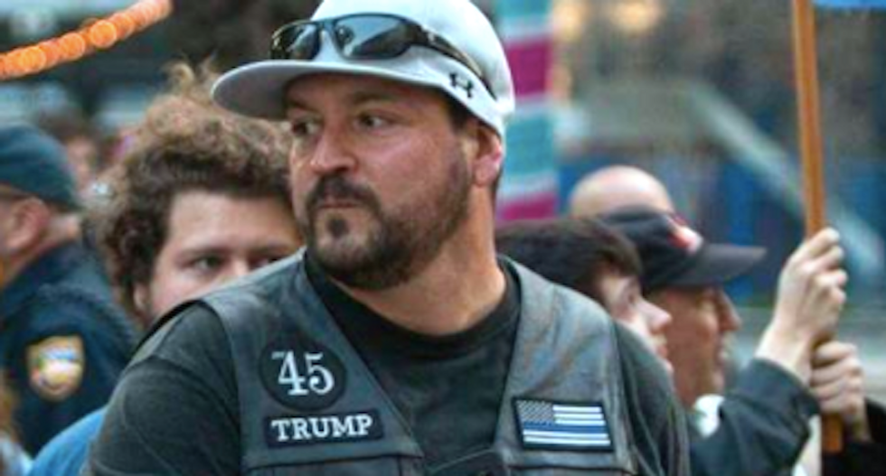 Right-wing troll blamed for sparking chaos at Jacksonville anti-Trump war protest