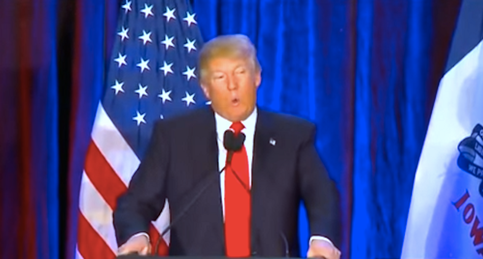 What does a Donald Trump concession speech sound like?