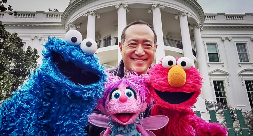 White House solicits Sesame Street characters for Easter Egg Roll four days after bid to end PBS funding