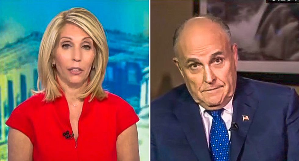 'Really?' CNN's Dana Bash rattles a confused Rudy Giuliani after he calls James Clapper and John Brennan 'clowns'