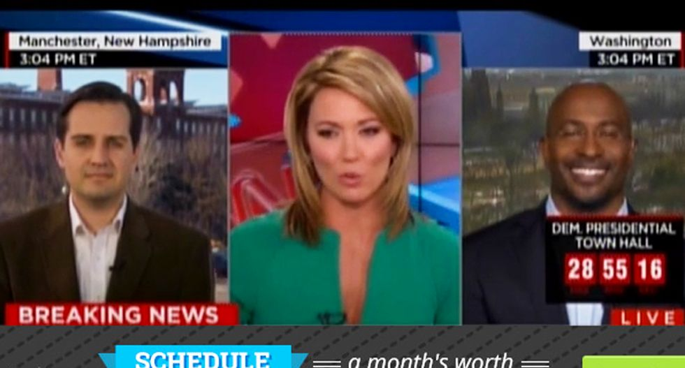 CNN guest marvels: Sanders nearly won Iowa despite being 'a 79,000 year-old Muppet-looking socialist'