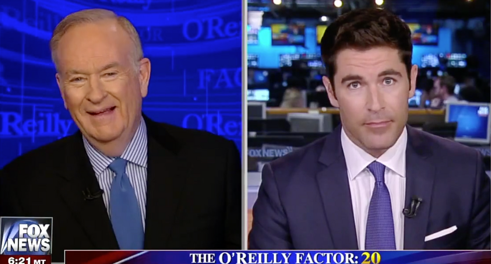 'I shouldn't be laughing, but...': Bill O'Reilly chuckles after watching violent removal of United passenger