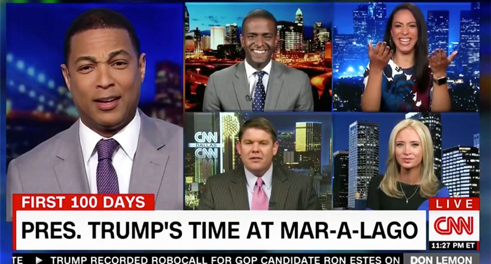 CNN panel goes hilariously off the rails as conservative defends Trump spending taxpayer millions to play golf
