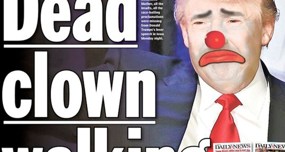 New York Daily News trolls Donald Trump with hilarious 'loser' front page
