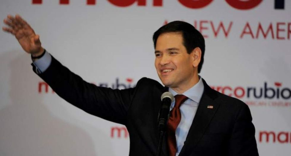 Marco Rubio emerges from Iowa as Republican establishment's best hope for 2016