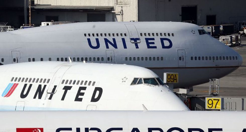 Online fury as passenger dragged off overbooked United flight