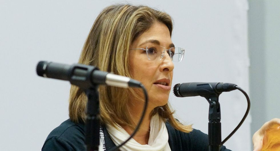 Naomi Klein explains why progressives are losing 'ideological ground' to conservatives