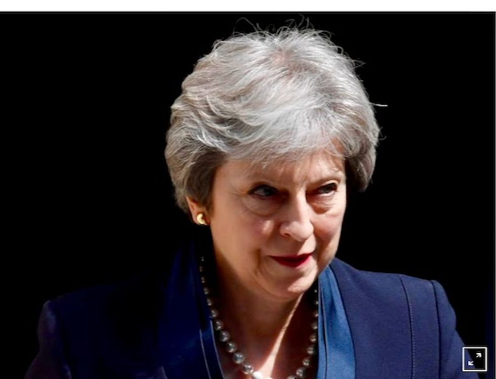 Theresa May warns of catastrophe if lawmakers don't back her Brexit deal
