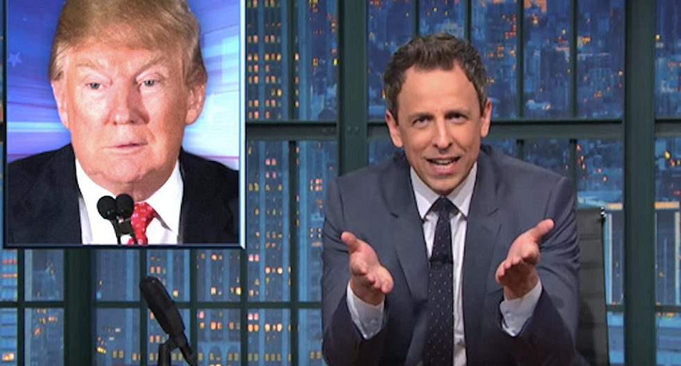 Seth Meyers slams Trump's demand for new election: 'No one wants to go back to f*cking Iowa'