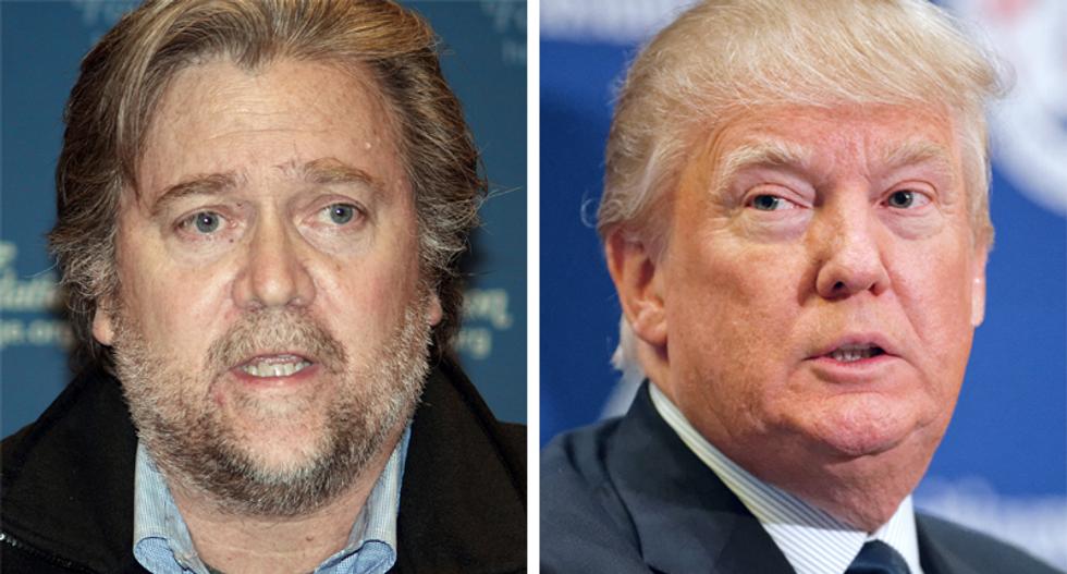 Trump praises alt-right former advisor Steve Bannon: 'I loved working with him'