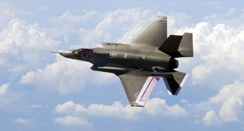 US military's F-35 still dogged with 'deficiencies': report