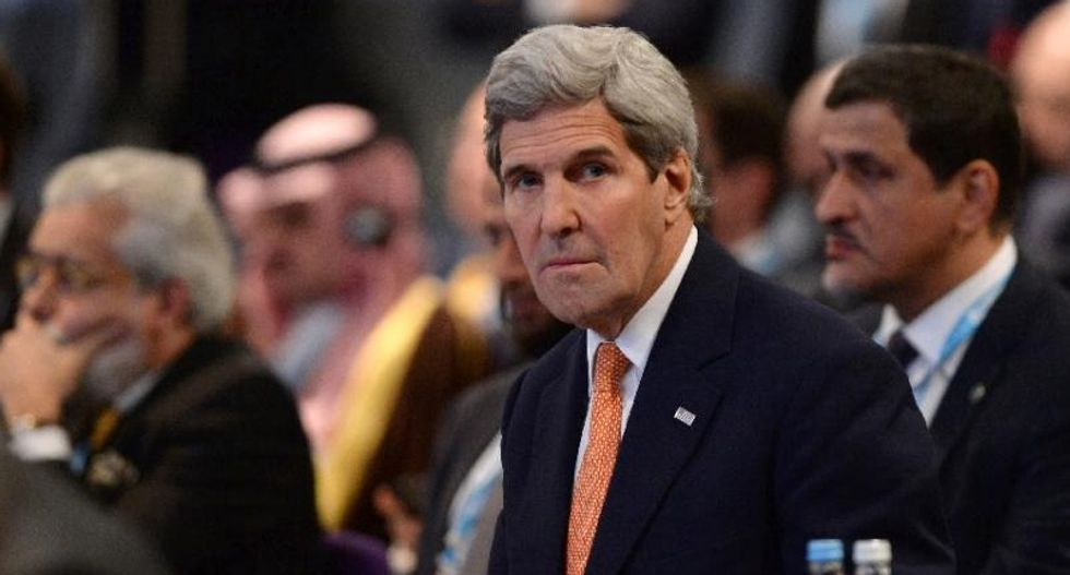 Israel delays settler permits ahead of Kerry speech