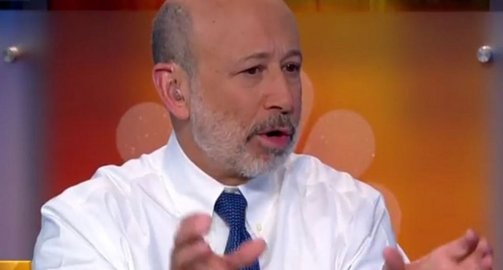 Bernie has Goldman Sachs CEO running scared: Sanders' candidacy is a 'dangerous moment'